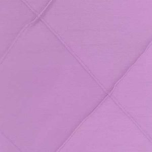 Polyester Lavender Pintuck Linen for rent in Salt Lake City Utah