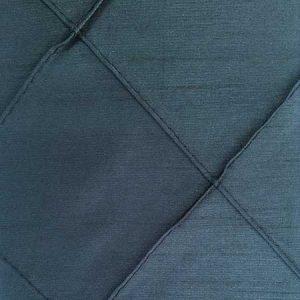 Nova Slate Blue Pintuck Linen for rent in Salt Lake City Utah