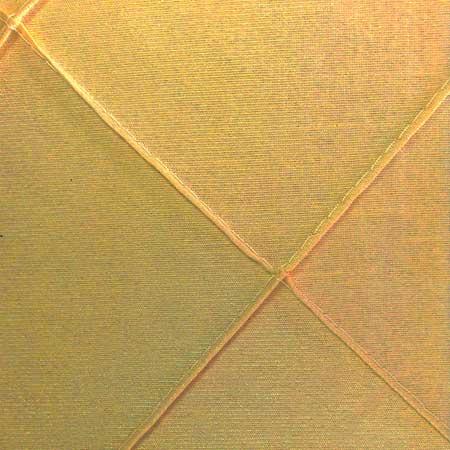 Nova Soft Gold Pintuck Linen for rent in Salt Lake City Utah