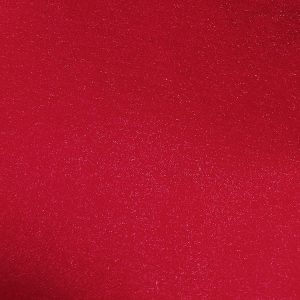 Sparkling Nylon Red Organza Linen Swatch