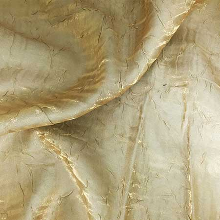 Champagne Gold Iridescent Crush Linen for Rent in Salt Lake City Utah
