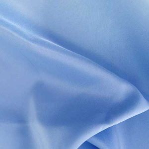Cornflower Poly Satin Linen for Rent in Salt Lake City Utah