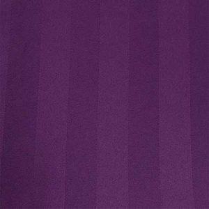 Eggplant Satin Stripe Linen for Rent in Salt Lake City Utah