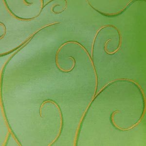 Nova Apple Green Swirl Linen for Rent in Salt Lake City Utah