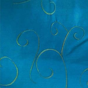 Nova Bermuda Blue Swirl Linen for Rent in Salt Lake City Utah