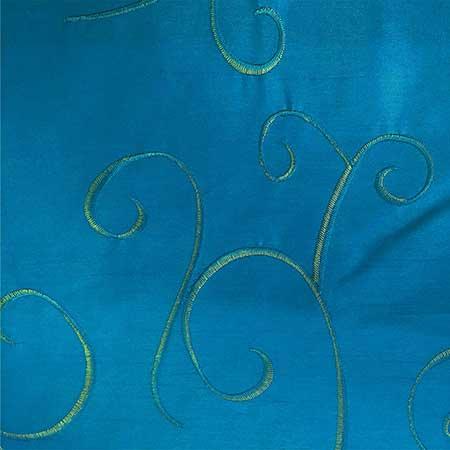 Nova Bermuda Blue Swirl Linen for Rent in Salt Lake City Utah