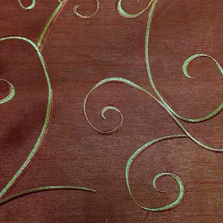 Nova Copper Swirl Linen for Rent in Salt Lake City Utah
