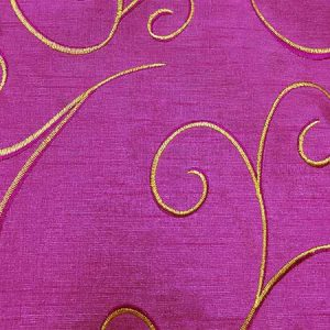 Nova Fuchsia Swirl Linen for Rent in Salt Lake City Utah