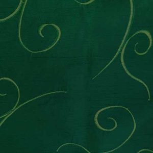 Nova Hunter Green Swirl Linen for Rent in Salt Lake City Utah