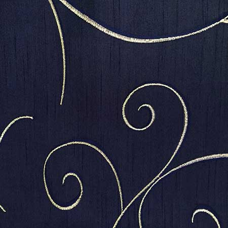 Nova Navy Swirl Linen for Rent in Salt Lake City Utah