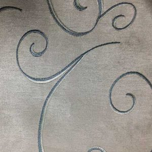 Nova Silver Swirl Linen for Rent in Salt Lake City Utah