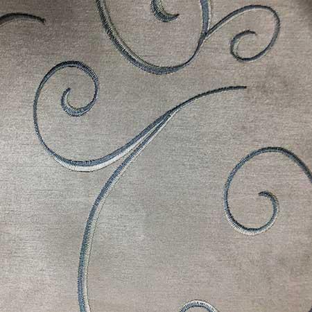 Nova Silver Swirl Linen for Rent in Salt Lake City Utah