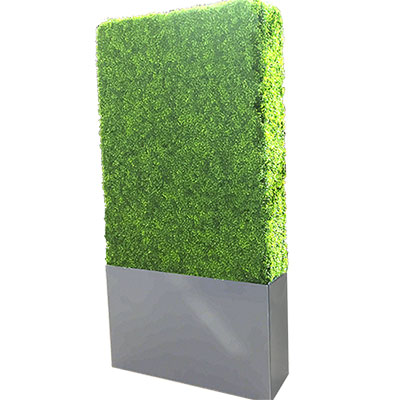 Artificial Boxwood Hedge 8 feet for rent in Salt Lake City Utah