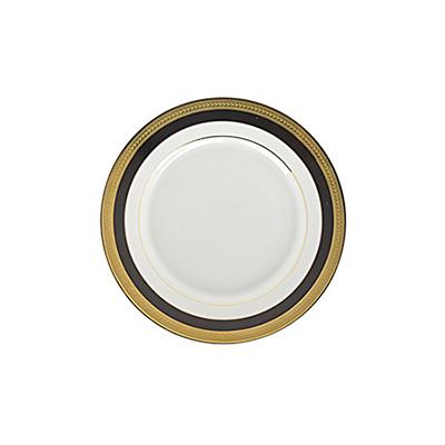 Sahara Black Bread and Butter Plate for Rent in Salt Lake City Utah