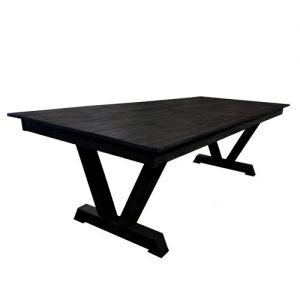 Midnight Banquet Table for rent in Salt Lake City Utah