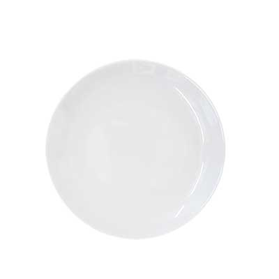 Coupe Bright White Bread and Butter Plate for rent in Salt Lake City Utah