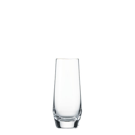 Pure Stemless Champagne-Aperitif Glass for rent in Salt Lake City Utah
