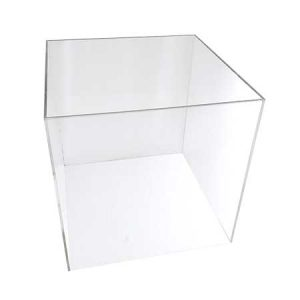 Clear Acrylic Display Cube