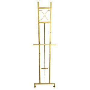 Gold Decorative Display Easel for rent in Salt Lake City Utah