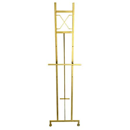 Gold Decorative Display Easel for rent in Salt Lake City Utah