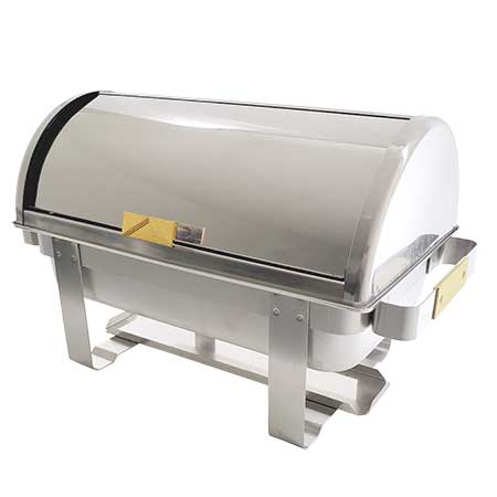 Roll Top Chafer 8 Quart for rent in Salt Lake City Utah