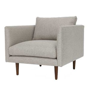 Seasalt Gray Arm chair for rent in Salt Lake City Utah