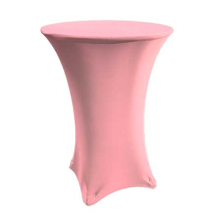 Spandex Pink Cabaret Linen for rent in Salt Lake City Utah