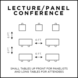 conference seating plans